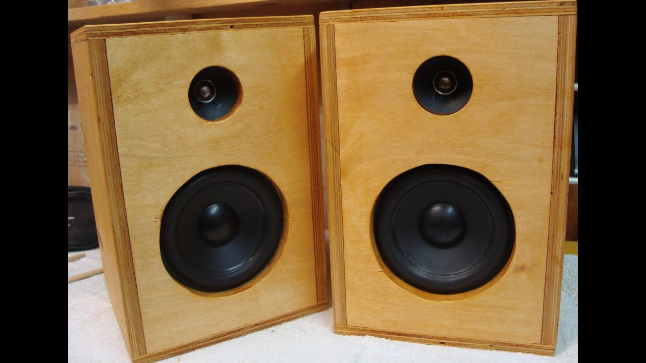 Diy How To Make Homemade Speakers ♪ Youtube