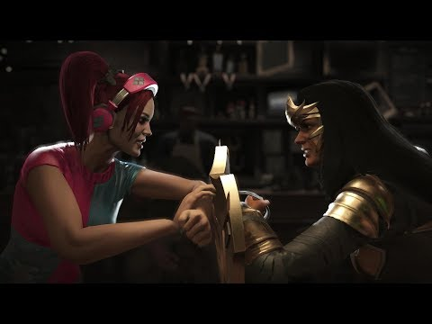 Injustice 2 : Harley Quinn Vs Wonder Woman - All Intro/Outros, Clash Dialogues, Super Moves