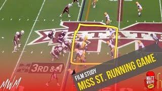 Film Study: Mississippi State running game (mid-season) 2019