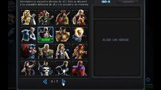 10 MEJORES héroes Marvel Avengers Alliance 2014 PARTE 1/2 Consejos Ayuda y Trucos