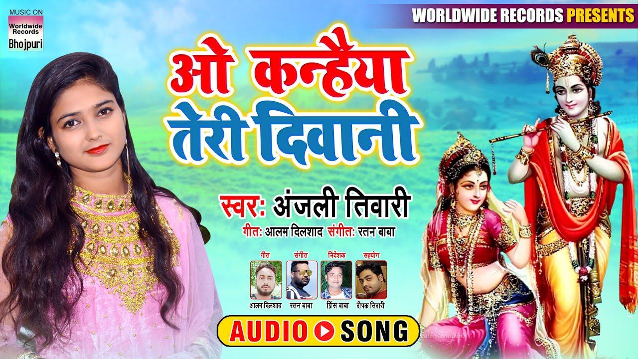 O Kanhaiya Teri Diwani | Anjali Tiwari | NEW SONG 2020 | KRISNA BHAJAN
