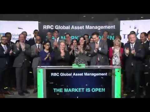 RBC Global Asset Management open Toronto Stock Exchange, September 13, 2018