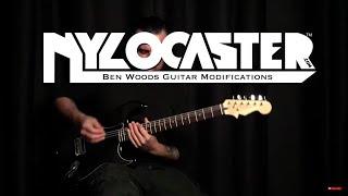 BLACK NYLOCASTER - Ben Woods - Nylon String Electric Guitar