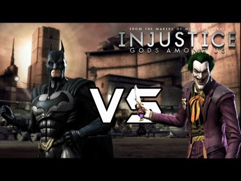 Injustice Gods Among Us - Archenemies vs Heroes Lore & Skins!