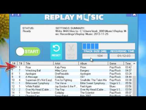 Audio Recorder for Music and MP3 - An Introduction to Replay Music 6