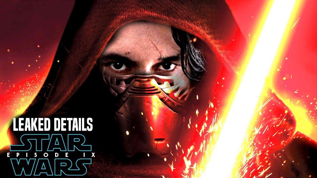 Star Wars Episode 9 Kylo Ren's NEW Appearance! Leaked Details Revealed