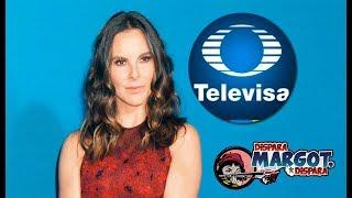 Televisa prepara Demanda contra Kate del Castillo por Difamación