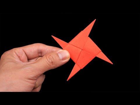 Easy Origami Paper Ninja star - How to Make Ninja star Step by Step