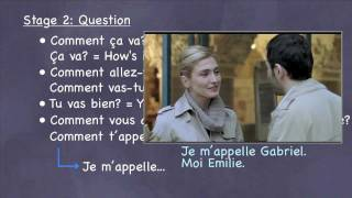 French Alphabet Practice with Movie Clips