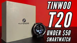 SmartWatch Under $50 TINWOO Smartwatch Unboxing and First Look