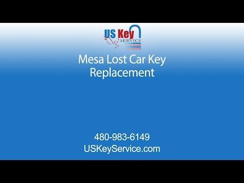 Replace Lost Mesa Car Keys | Us Key Service