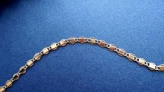 браслет женский на руку с позолотой