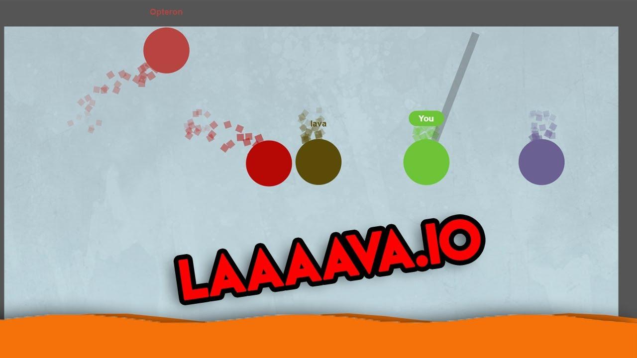 The Floor is Lava ! // New game Laaaava.io - YouTube