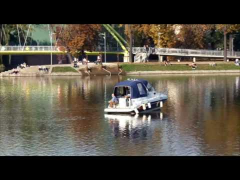 Timelapse: Wroclaw, Poland - River Odra
