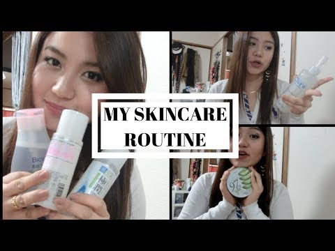 My Skin Care Routine 2018  (japanese Product)