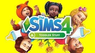 THE SIMS 4 TODDLER STUFF!!! New Stuffpack! [ Trailer Reaction ]