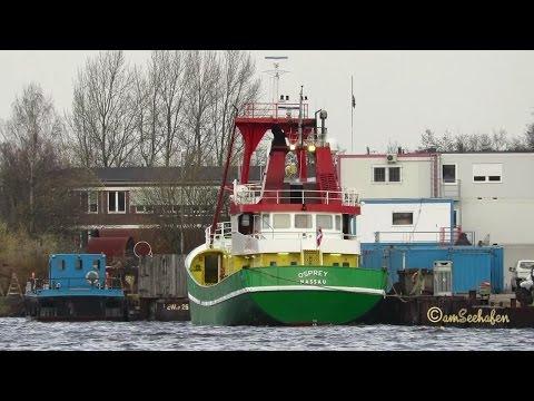 OSPREY C6CH5 IMO 8402694 Emden offshore utility vessel BJ 1984