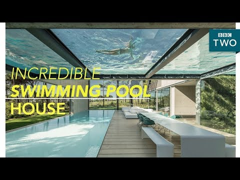 Inside the luxury two swimming pool house - World's Most Extraordinary Homes - BBC Two