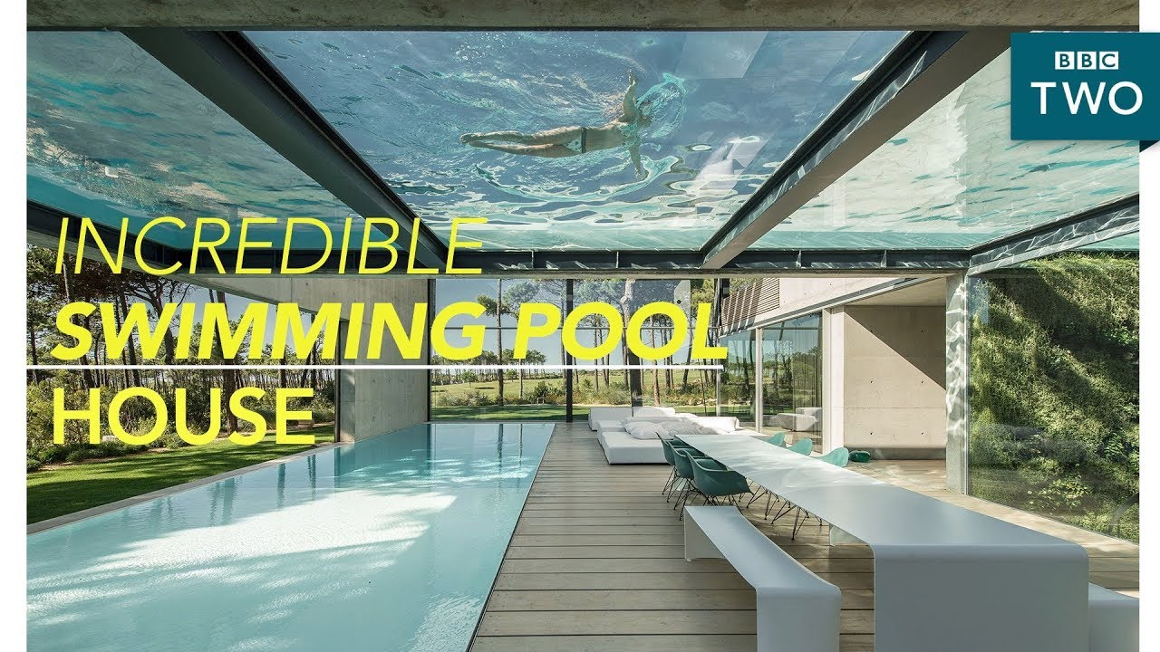 Inside the luxury two swimming pool house world 39 s most - Houses in england with swimming pools ...