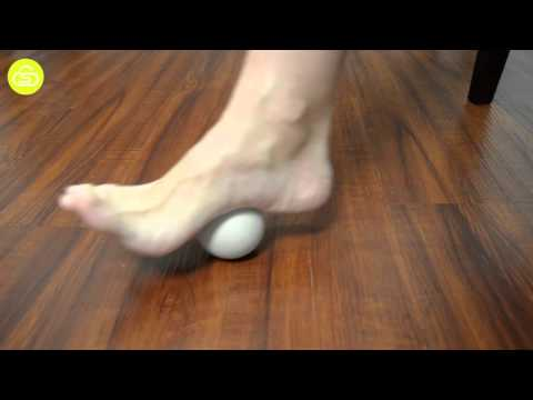 Plantar Fasciitis Stretches - Ball Rolling