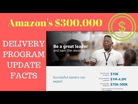 Amazon Delivery Program $300,000 Income. FACT OR FICTION UPDATE!!