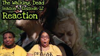 The Walking Dead | REACTION - Season 4 Episode 12