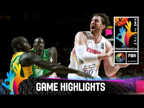 Spain v Senegal - Game Highlights - Round of 16 - 2014 FIBA Basketball World Cup