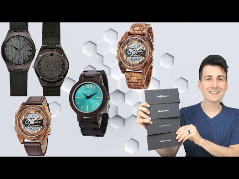 WOOD WATCH REVIEW   Shifenmei Wooden Watches For Men
