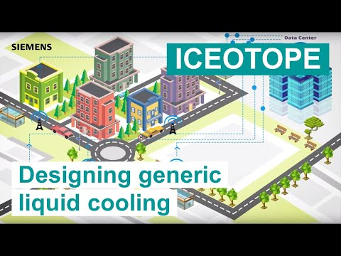 [ICEOTOPE] Designing generic liquid cooling using Simcenter Flotherm XT