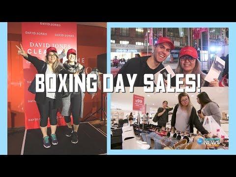 Boxing Day Sales: David Jones & Myer Melbourne 墨爾本節禮日購物 | BenChiLife VLOG 34
