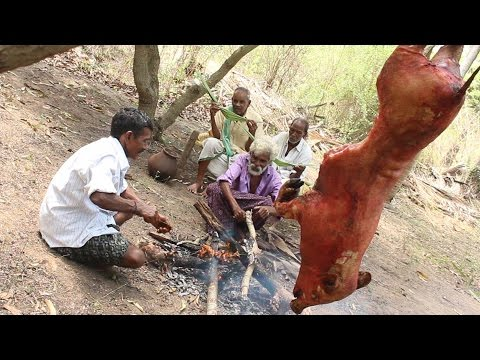 Full Pig Roast Recipe || Indian Daddy || Myna Tasty Food