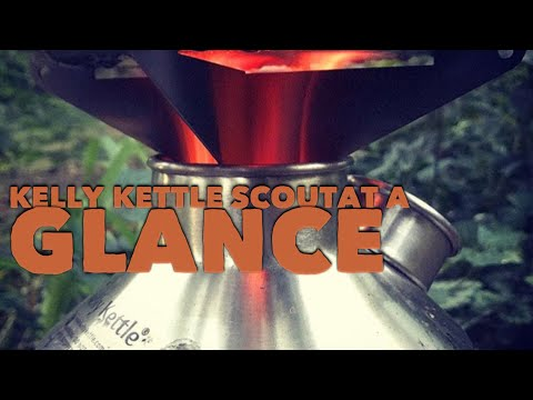 Kelly Kettle Scout, Ultimate Kit. (At A Glance)