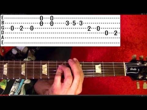 STAIRWAY TO HEAVEN  ( 1 of 2 ) Guitar Lesson - Jimmy Page