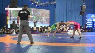 Финальные схватки турнира по вольной борьбе памяти Дмитрия Коркина начнутся через час