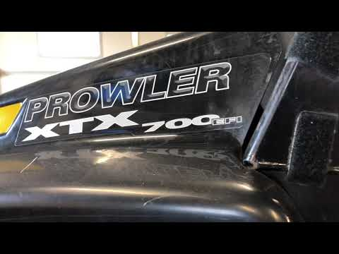 Arctic Cat 700 Prowler - Clutch Issue - Centrifugal Clutches Rebuild - Belt Replace Install