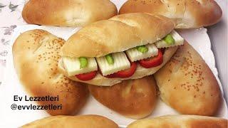 Kolay ve lezzetli sandviç ekmeği tarifi / Ekmek yapımı / Ev Lezzetleri
