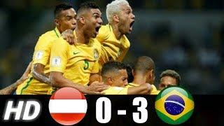 Austria vs Brazil Highlights 2018