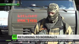 American volunteer fights for east Ukraine rebels