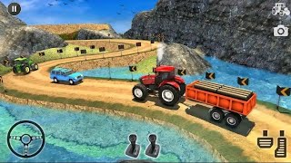 Heavy Duty Tractor Puller Simulator 3D - Off-road Tractor Pulling    Android Gameplay screenshot 5