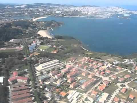 Aproximación y aterrizaje en Coruña Alvedro LCG