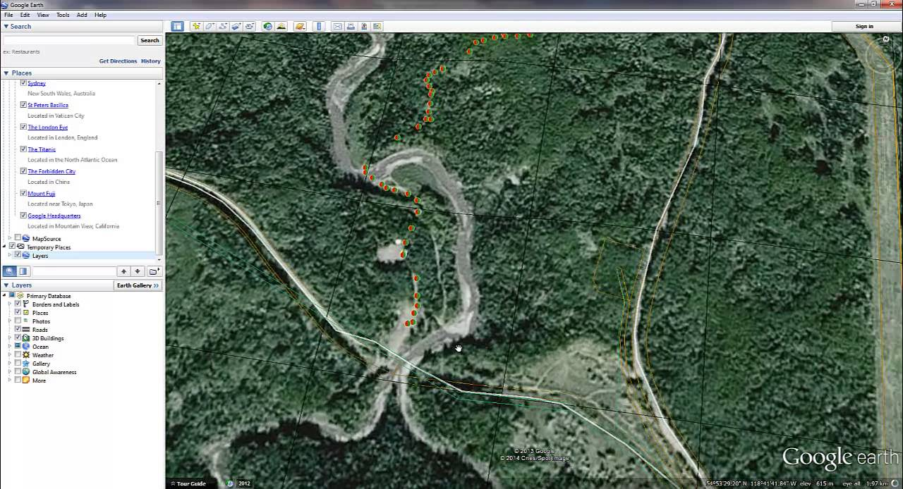 Vieworx Online Ground 360 Degree imagery viewer via Google Earth
