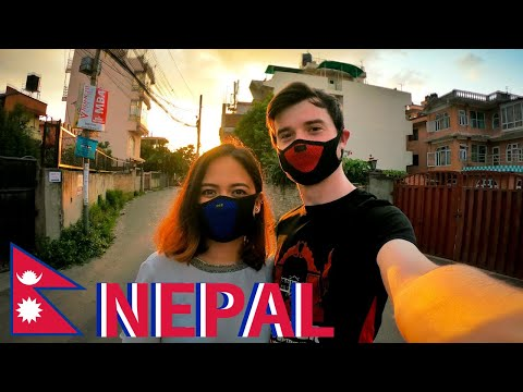 Afternoon Walk During Lockdown in Kathmandu - Nepal 🇳🇵