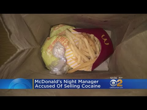 Drugs Sold At McDonald's In Bronx