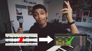 turning a lo-fi sample into a HIT SONG | Airplane breakdown