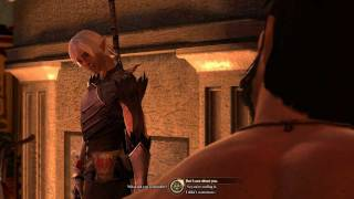 Dragon Age 2: Fenris Romance #6: Sex scene (Friendship) (Male Hawke)