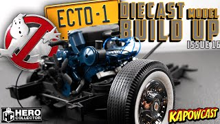 GHOSTBUSTERS ECTO-1 DIECAST BUILD | EAGLEMOSS KIT 16