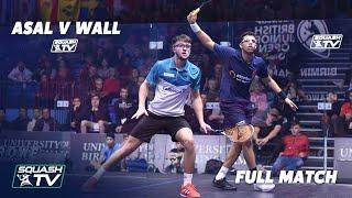 Squash: Asal v Wall - British …