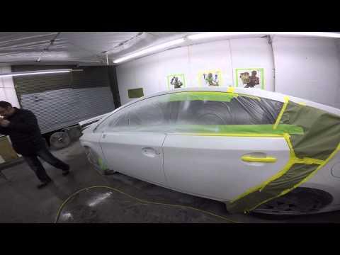 Покраска Авто. Белый Перламутр