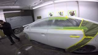 Покраска Авто. Белый Перламутр(, 2015-08-29T05:26:58.000Z)