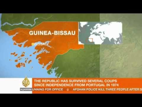 Al Jazeera interviews Peter Thompson in Guinea-Bissau